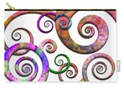 Abstract - Spirals - Planet X Carry-all Pouch