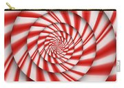 Abstract - Spirals - The Power Of Mint Carry-all Pouch by Mike Savad
