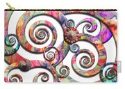 Abstract - Spirals - Wonderland Carry-all Pouch