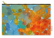 Abstract Summer #2 Carry-all Pouch by Pixel Chimp
