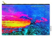 Abstract Sunset As A Painting Carry-all Pouch