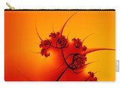 Abstract Sunset Fractal Carry-all Pouch