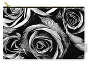 Dark Star Roses For David Bowie Carry-all Pouch