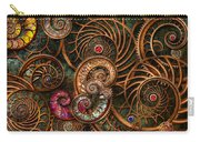 Abstract - The Wonders Of Sea Carry-all Pouch by Mike Savad