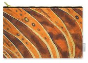 Abstract Tiger Stripes Carry-all Pouch