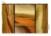 Abstract Triptych - Omaha Library Building Carry-all Pouch