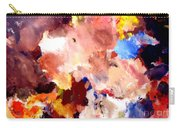 Abstract Two Carry-all Pouch