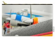 Abstract View Of Airshow During A Rain Storm Carry-all Pouch