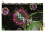 Abstract Virus Budding 2 Carry-all Pouch
