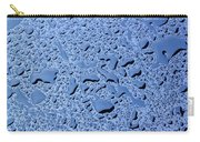 Abstract Water Drops Carry-all Pouch