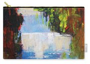 Abstract Waterfall Painting Carry-all Pouch