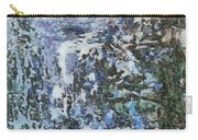 Abstract Winter Landscape Carry-all Pouch
