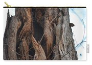 Abstract Winter Tree Carry-all Pouch