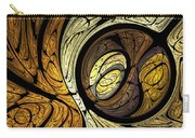 Abstract Wood Grain Carry-all Pouch