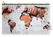 Abstract World Map - Chocolates - Confections - Candy Shop Carry-all Pouch