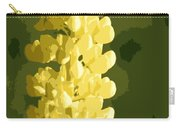 Abstract Yellow Lupine Carry-all Pouch