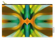 Abstract Yellowtree Symmetry Carry-all Pouch by Amy Vangsgard