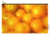 Abstracted Oranges Carry-all Pouch