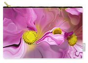 Abstracted Pink Carry-all Pouch