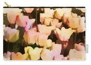 Abstracted Tulips Carry-all Pouch