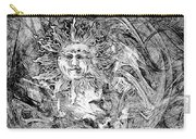 Abstraction B-w 0516 Marucii Carry-all Pouch