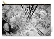 Abstraction B-w 0548 - Marucii Carry-all Pouch