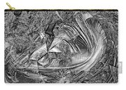 Abstraction B-w 0559 Marucii Carry-all Pouch