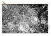 Abstraction B-w 0572 - Marucii Carry-all Pouch