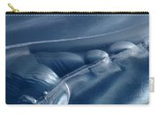 Abstraction In Blue Carry-all Pouch