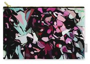 Abstraction Red And Green Carry-all Pouch