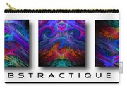 Abstractique 3 Carry-all Pouch