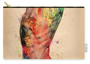 Abstractiv Body - 3 Carry-all Pouch by Mark Ashkenazi