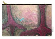 Abstracty Crows Feet Crop Carry-all Pouch