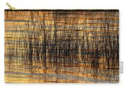 Abstract Reed And Water Patterns Carry-all Pouch