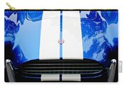 Ac Shelby Cobra Grille - Hood Emblem Carry-all Pouch