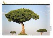 Acacia Trees Masai Mara Kenya Carry-all Pouch