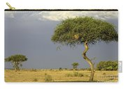 Acacia Trees On Serengeti Carry-all Pouch