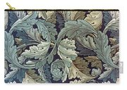 Acanthus Leaf Design Carry-all Pouch by William Morris