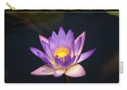 Accents On A Purple Waterlily... Carry-all Pouch