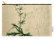 Aconitum Napellus By Sowerby Carry-all Pouch by Philip Ralley