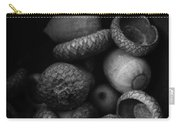 Acorns Black And White Carry-all Pouch