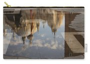 Acqua Alta Or High Water Reflects St Mark's Cathedral In Venice Carry-all Pouch