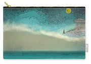 Acropolis In Moonlight Carry-all Pouch