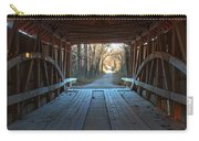 Across The Bridge And Through The Woods Carry-all Pouch