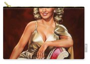 Actress Carole Landis Carry-all Pouch