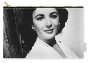 Actress Elizabeth Taylor Carry-all Pouch