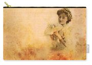 Actress In The Pink Vintage Collage Carry-all Pouch