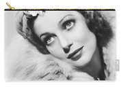 Actress Loretta Young Carry-all Pouch