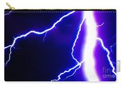 Actual Lightning In Zoom Image Carry-all Pouch