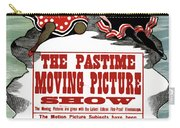 Ad Moving Picture, 1913 Carry-all Pouch